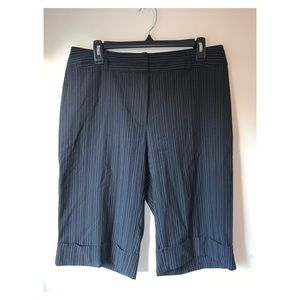 Molly & Maxx| cropped pin striped pants sz 10